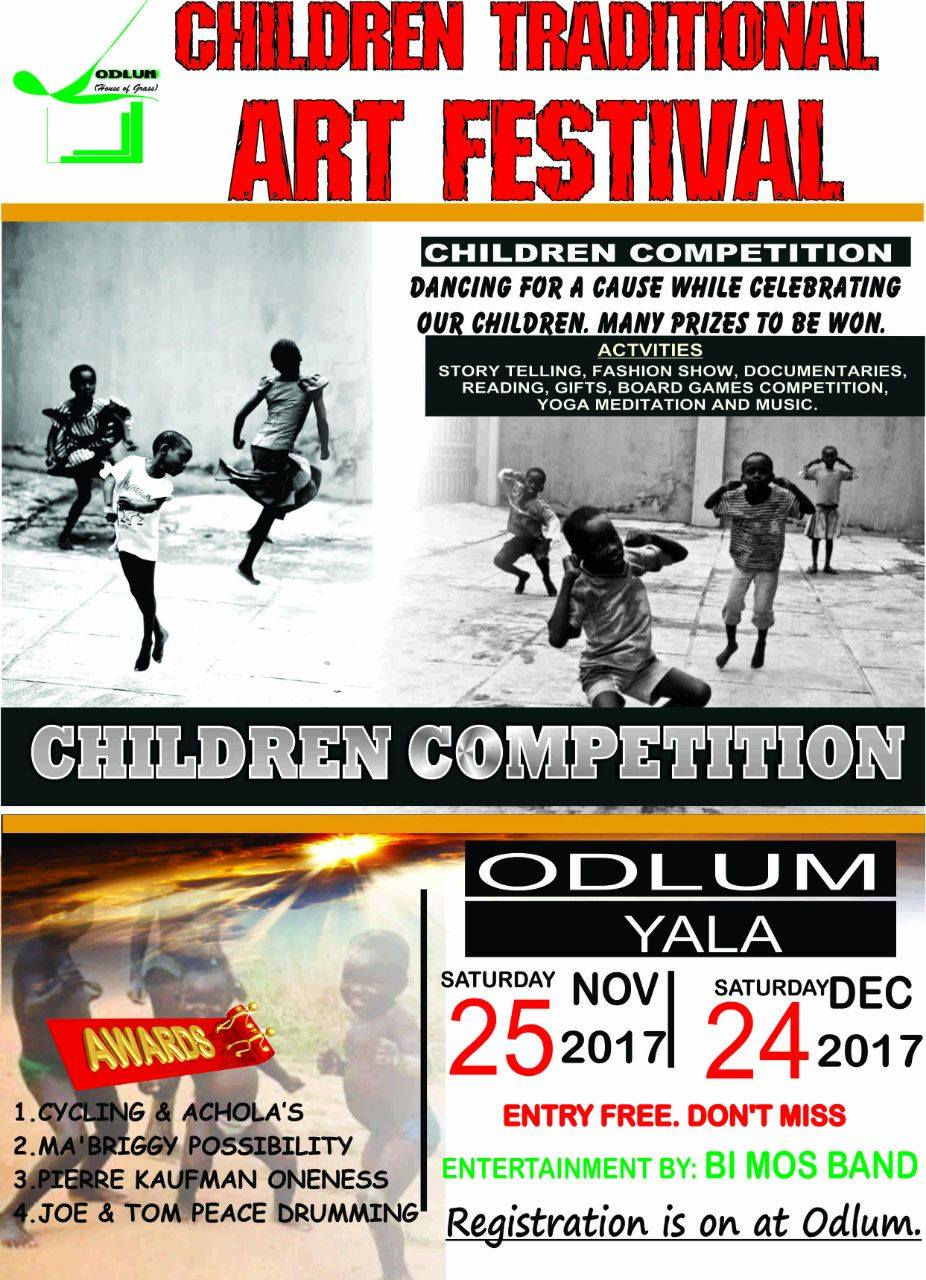 Odlum flyer for Children Traditional Art Festival, 2017
